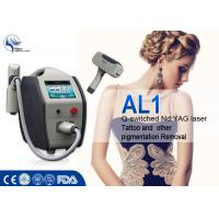Wholesale Portable 1064nm 532nm Q Switch Laser Tattoo Removal Machine 1 - 6mm Spot Size from china suppliers