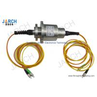 Wholesale Double Channel Fiber Optic Rotary Joint / Fiber Optic Cable Joint With Stainless Steel House from china suppliers