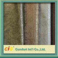 Wholesale Multi Color High Abrasion PVC Artificial Leather Fabric  0.5 - 2mm Fake Leather Material from china suppliers