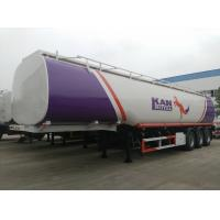 Wholesale CLW 9402GYY CLW brand 42.-45cbm fuel tanker semi-trailer for sale, factory sale best price carbon steel 45m3 oil tank from china suppliers
