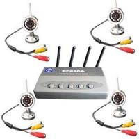 Wholesale 2.4Ghz Wireless Surveillance Kit with 4 X 12Leds Cameras from china suppliers