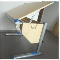 Wholesale E1 PB students rectangular Adjustable Drawing Desk / table Home Furniture from china suppliers