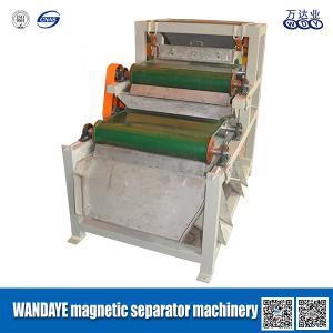 Wholesale Belt Conveyor Magnetic Separator Machine 1.5KW , 150x1200mm Magnetic Roller Specification quartzsand feldspar from china suppliers