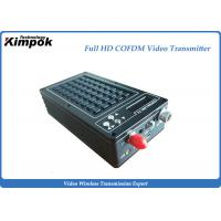 Wholesale Microwave HD Wireless Video Transmitter HDMI + SDI + CVBS 3 Ports for Body Worn Cameras from china suppliers