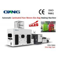 Wholesale Fully Automatic Non Woven Box Bag Making Machine Moisture Resistant from china suppliers