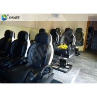 Wholesale 3 DOF Pneumatic System 5D Movie Theater Luxury Black Chair Yellow 3D Glasses from china suppliers