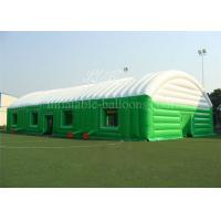 Wholesale 0.55mm PVC Tarpaulin Inflatable Building Structures Outdoor Event Tent 12m Height from china suppliers