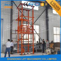 Wholesale 2.5T 3.6m Warehouse Hydraulic Elevator Lift for Goods , 3-6m/min from china suppliers