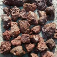 Wholesale Red/Brown Lava Stone Rock,Lava Stone Pebbles,Red Lava Stone Cladding,Red Basalt Pebbles from china suppliers