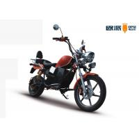 Wholesale Full Powerful Electric Motorcycle , Electric Racing Motorcycle New Energy from china suppliers