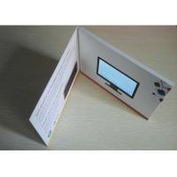 Wholesale High quality 4.3 inch wedding invitation card printing video book video brochure with 500mAh built-in battery from china suppliers