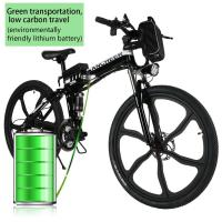 Professional Battery Powered Bicycles Foldable Electric Powered Mountain Bike