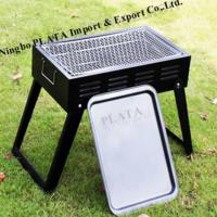 Quality Folding Portable Steel Charcoal BBQ Grills for sale