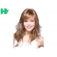 Wholesale 20 Inch Blond Brown Long Natural Look Synthetic Hair Wigs For Women from china suppliers