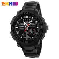 Buy cheap 304 Stainless Steel Strap Digital Analog Wrist Watch PC Eco - Friendly Case from wholesalers