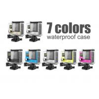 Multi Colored Waterproof Sports Video Camera With Wifi , Small Waterproof Video Camera