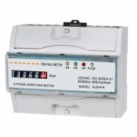 Wholesale Waterproof Three Phase Din Rail KWH Meter , kilowatt hour meter from china suppliers