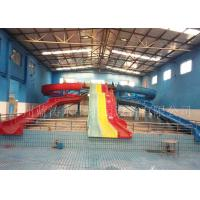 Wholesale Indoor Combination Kid Water Slides With Open Spiral / Rainbow Slide from china suppliers
