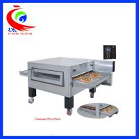 Wholesale Hot Air Circulation System Electric Pizza Oven Flat Griddle Pan With Wheel from china suppliers