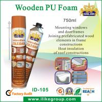Wholesale 750ml Manual Pu Foam Insulation Spray / Seals For Bonding , Soundproofing from china suppliers