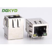 Wholesale Right Angle integrated RJ45 single port female Jack with magnetics 8P8C For Router from china suppliers