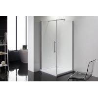 Wholesale Square 6m Door Thickness Shower Enclosures Bathroom Shower Stalls Stripe Glass from china suppliers