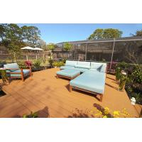 Wholesale Durable and Cheap Plastic Wood WPC Composite Hollow and Solid Outdoor Decking Brown from china suppliers