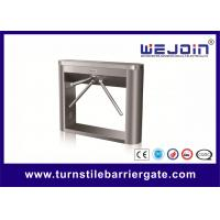 Wholesale Flexible Double Tripod Turnstile Gate Waist Height With Dc Motor For Museum from china suppliers
