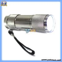 Wholesale Mini 9 LED Super Bright Flashlight Lamp Camping Torch Head (J00801) from china suppliers