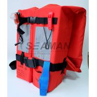 Wholesale SOLAS / MED Approval 150N Adult Marine Life Jacket Type - I For Open Water Survival from china suppliers