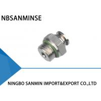 Wholesale Professional SSC-G Pneumatic Tube Fittings Air Line Connectors M5 - M6 Thread from china suppliers