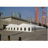 Wholesale Gazebo Trade Show Tent , A Word Shape White Marquee Tents 10M X 60M Length from china suppliers
