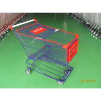 Wholesale Supermaket store 150L asian style Wire Shopping Trolley carts with wheels from china suppliers