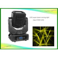 Buy cheap Bright White 4 * 25W IP20 LED Moving Head Light DMX 15CH Super Beam Light from wholesalers