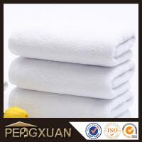 Wholesale 21s/2 embroidery and jacquard towels hotel white hand towels for sale with 100% cotton PXFT2 from china suppliers