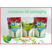 Wholesale Food Grade Plastic Stand Up Pouches , Laminated Heat Seal Food Packaging Bags from china suppliers