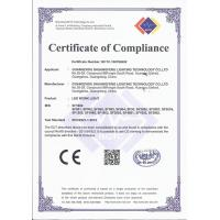 Guangzhou shuangfeng lighting technology co.itd. Certifications
