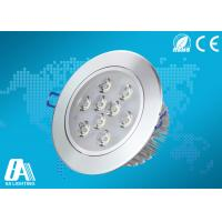 Wholesale Super Bright 9 Watt Recessed Ceiling Lights Cool White Beam Angle 45° 50hz ~60hz from china suppliers