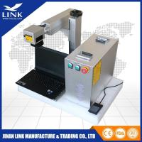 Wholesale Handle type fiber laser marking machine for abs, metal,plastic and package from china suppliers