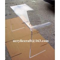Wholesale Long Narrow Living Room Furniture Acrylic Plexiglass Console Table from china suppliers