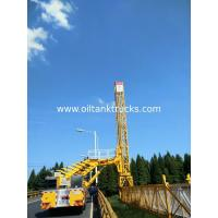 Buy cheap High Efficiency 22m Under Under Bridge Inspection Vehicle With Hydrostatic Drive VOLVO 8x4 from wholesalers