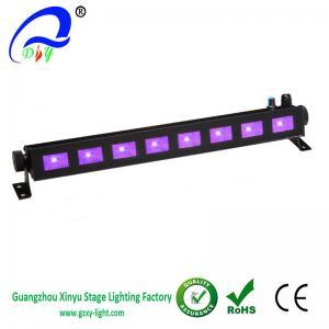 Wholesale Cheap 8pcs*3w LED UV Light  Bar Black Light, Metallic Black from china suppliers