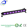 Buy cheap Cheap 8pcs*3w LED UV Light  Bar Black Light, Metallic Black from wholesalers