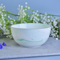 Wholesale Green Marble Ceramic Candle Bowl Vessels For Wedding Decoration from china suppliers