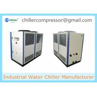 Wholesale 10tons Air Cooled Scroll Industrial Glycol Chiller for Brewery Beer Cooling from china suppliers
