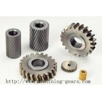 Wholesale Burring Steel Helical Teeth Gear Toothed Wheel For Cutting Plate Machine from china suppliers
