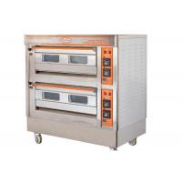 Wholesale QL-4A Two Deck Gas Oven / Commercial Electric Baking Ovens With Automatic Protection Devices from china suppliers