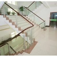 Wholesale 4mm Reflective Toughened Clear Flat Tempered Glass Indoor For Partition Decorative Stairs from china suppliers