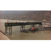 Wholesale Pins Connect Temporary Military Bridges 45 Meter Span Incrementally Launched Bridge from china suppliers