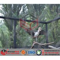 Wholesale SW09 Small birds aviary, parrot, macaw zoo mesh, bird nets, hand woven rope mesh from china suppliers